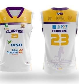 Equipación Blanca CDB Clarinos