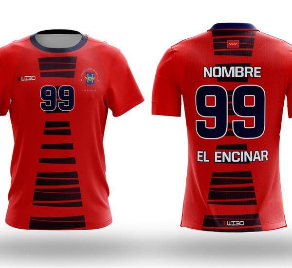 Camiseta Futbol Roja Highlands El Encinar - Wibo Store 892e50fb61f27