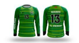 Equipación Portero Futbol Highlands El Encinar
