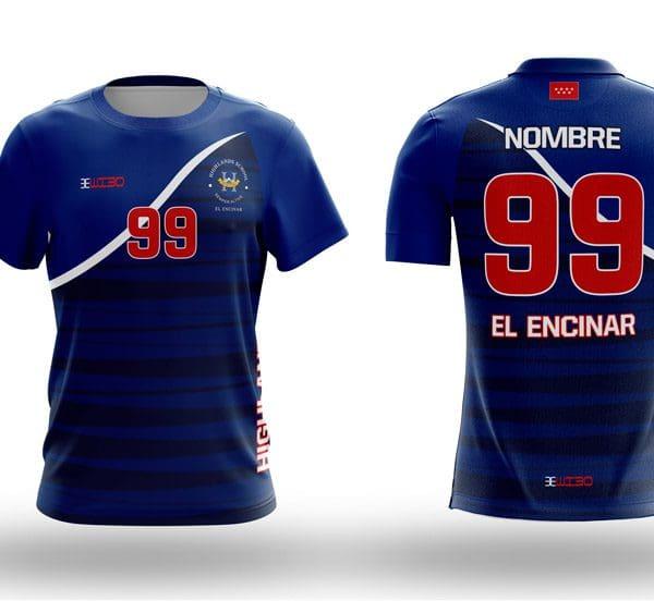 Camiseta Voley Azul marino Highlands El Encinar - Wibo Store cbf8606060956