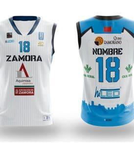Equipación Blanca Leb Plata CB Zamora