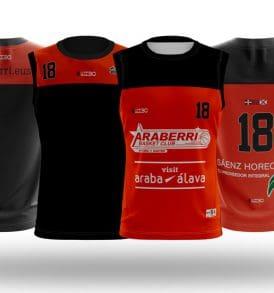 Equipación entrenamiento LEB ORO Araberri Basket Club